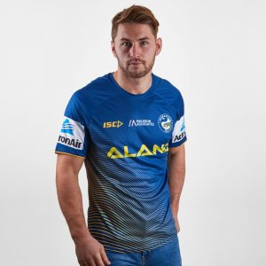 Parramatta Eels 2019 NRL Players Rugby Training T-Shirt