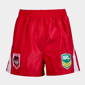 St George Illawarra Dragons NRL Kids Alternate Supporters Rugby Shorts