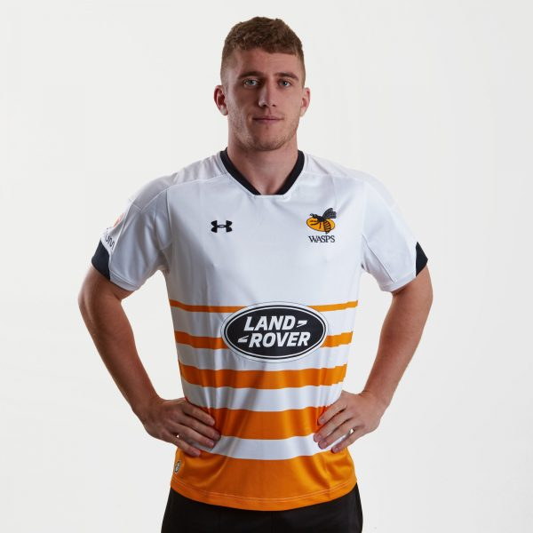 Wasps 2018/19 Alternate S/S Replica Rugby Shirt