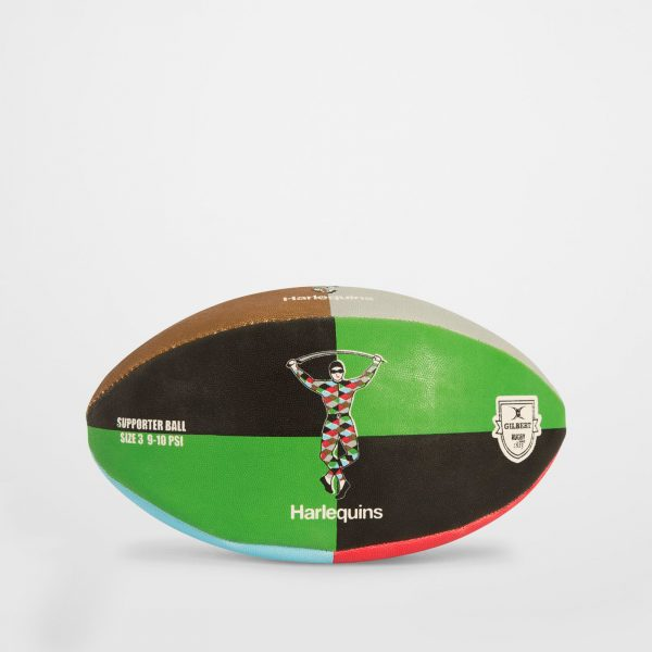 Harlequins Supporters Quartered Rugby Ball