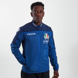 Italy 2018/19 Players Anthem Full Zip Rugby Jacket