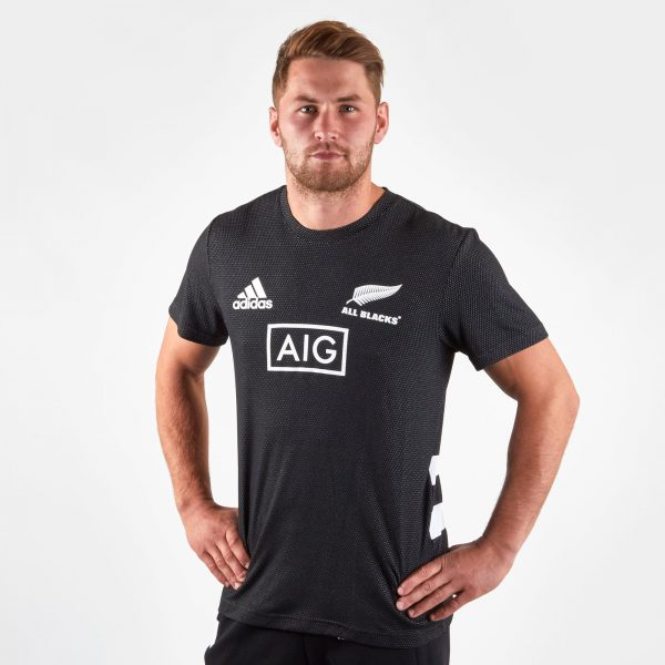 New Zealand All Blacks 2019/20 Rugby Performance T-Shirt