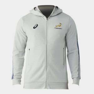 South Africa Springboks 2019/20 Players Travel Hooded Rugby Sweat