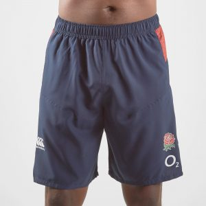 England 2019/20 Players Woven Gym Rugby Shorts