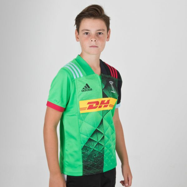 Harlequins 2018/19 Alternate Youth S/S Rugby Shirt