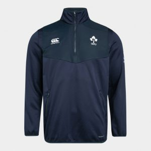 Ireland IRFU 2019/20 Kids 1/4 Zip Rugby Training Top