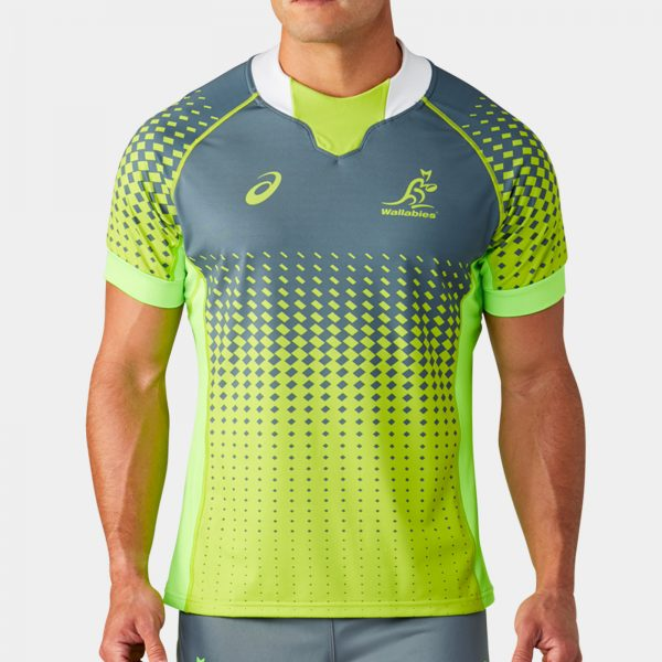 Australia Wallabies 2019/20 Players S/S Match Day Rugby Training Shirt