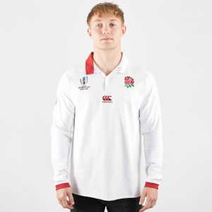 England RWC 2019 Home Classic L/S Rugby Shirt