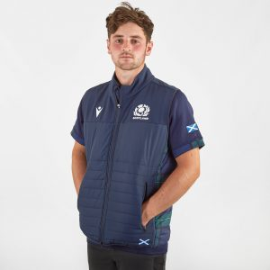 Scotland 2019/20 Players Padded Rugby Gilet