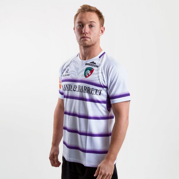 Leicester Tigers 2018/19 Alternate S/S Replica Rugby Shirt