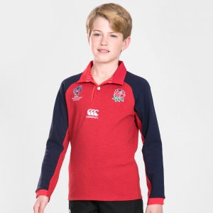 England RWC 2019 Youth Alternate Classic L/S Rugby Shirt