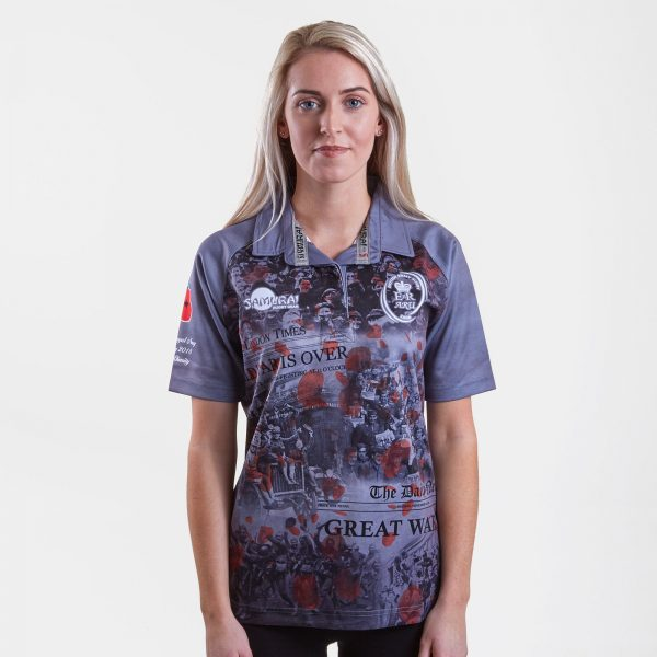 Army Rugby Union Ladies WWI Commemorative Rugby Shirt