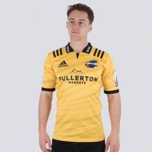 Hurricanes 2019 Home Super Rugby S/S Rugby Shirt