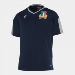 Italy 2019/20 Kids Rugby Training T-Shirt