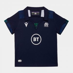 Scotland 2019/20 Infant Home S/S Replica Rugby Shirt