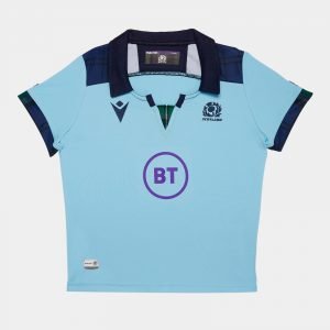 Scotland 2019/20 Mini Kids Alternate S/S Replica Rugby Shirt