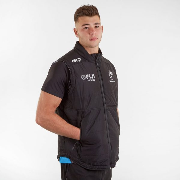 Fiji 2019/20 Players Padded Rugby Gilet