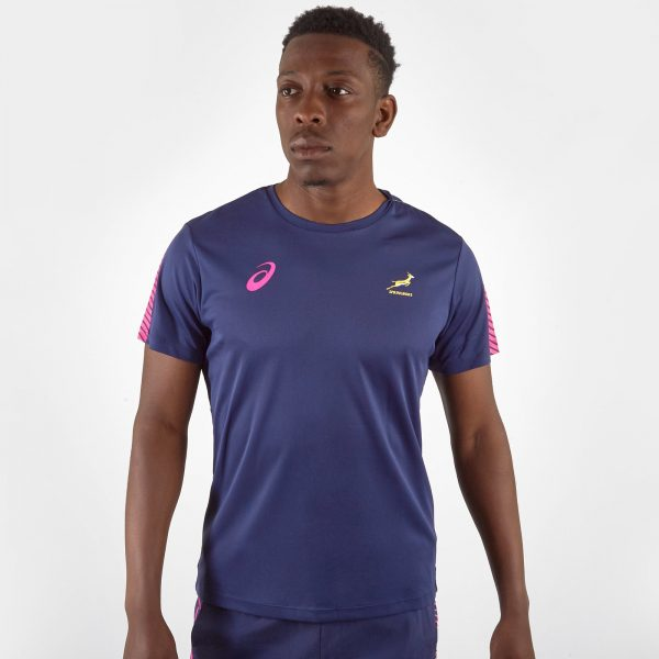 South Africa Springboks 2019/20 Players Rugby Training T-Shirt