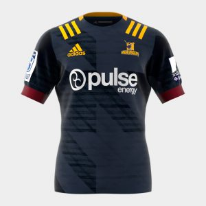 Highlanders 2020 Home Super Rugby S/S Rugby Shirt