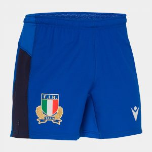 Italy 2019/20 Home Players Rugby Shorts