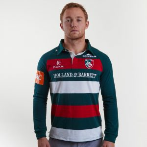 Leicester Tigers 18/19 Home L/S Classic Shirt