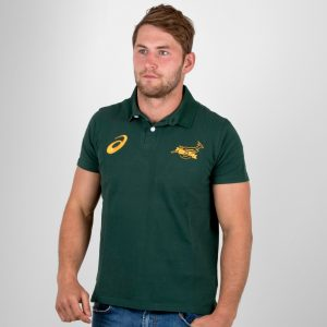 South Africa Springboks 2017/18 Supporters Rugby Polo Shirt