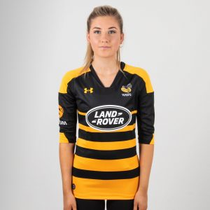 Wasps 2018/19 Home Ladies S/S Replica Rugby Shirt
