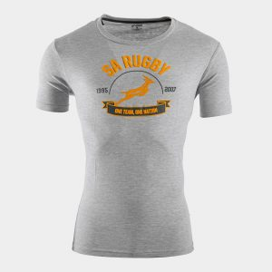 South Africa Springboks 1 Nation Graphic Rugby T-Shirt