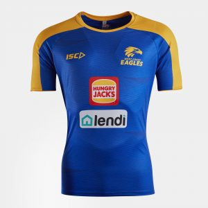 West Coast Eagles 2020 AFL Players Training T-Shirt